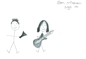 Junior Ministers, by Sam Mitcham, age 7