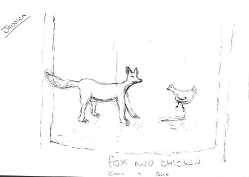 Fox vs Chicken