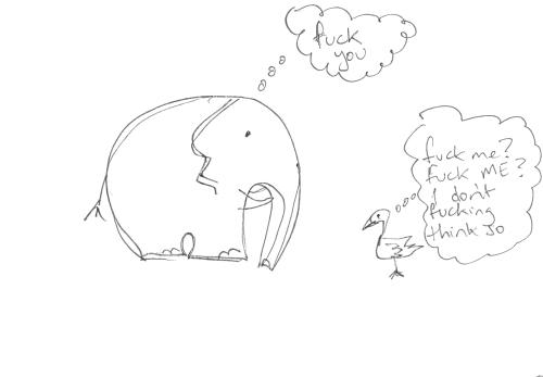 Elephant vs Duck
