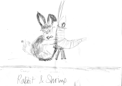 Rabbit vs Shrimp