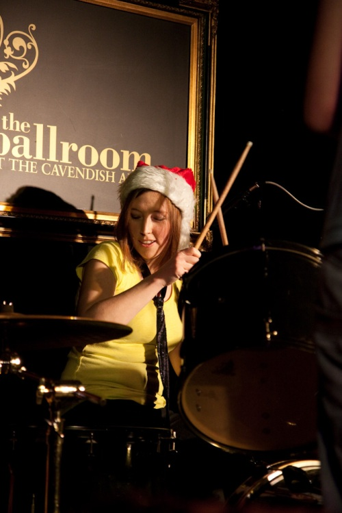 Witness to the Beard drummer Hayley: rocking